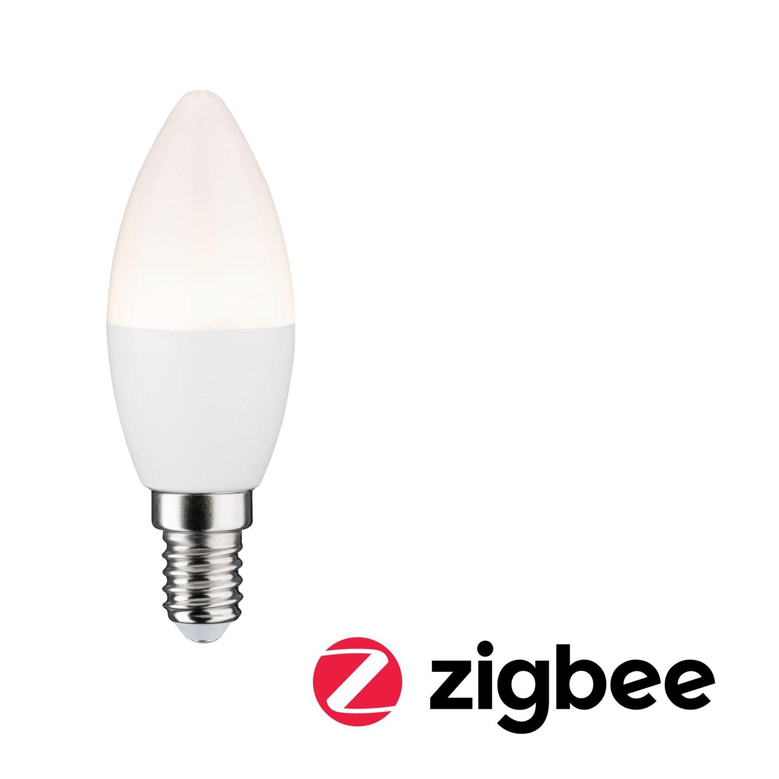 LED Kerze Smart Home Zigbee E14 230V 400lm 5W 2700K Matt