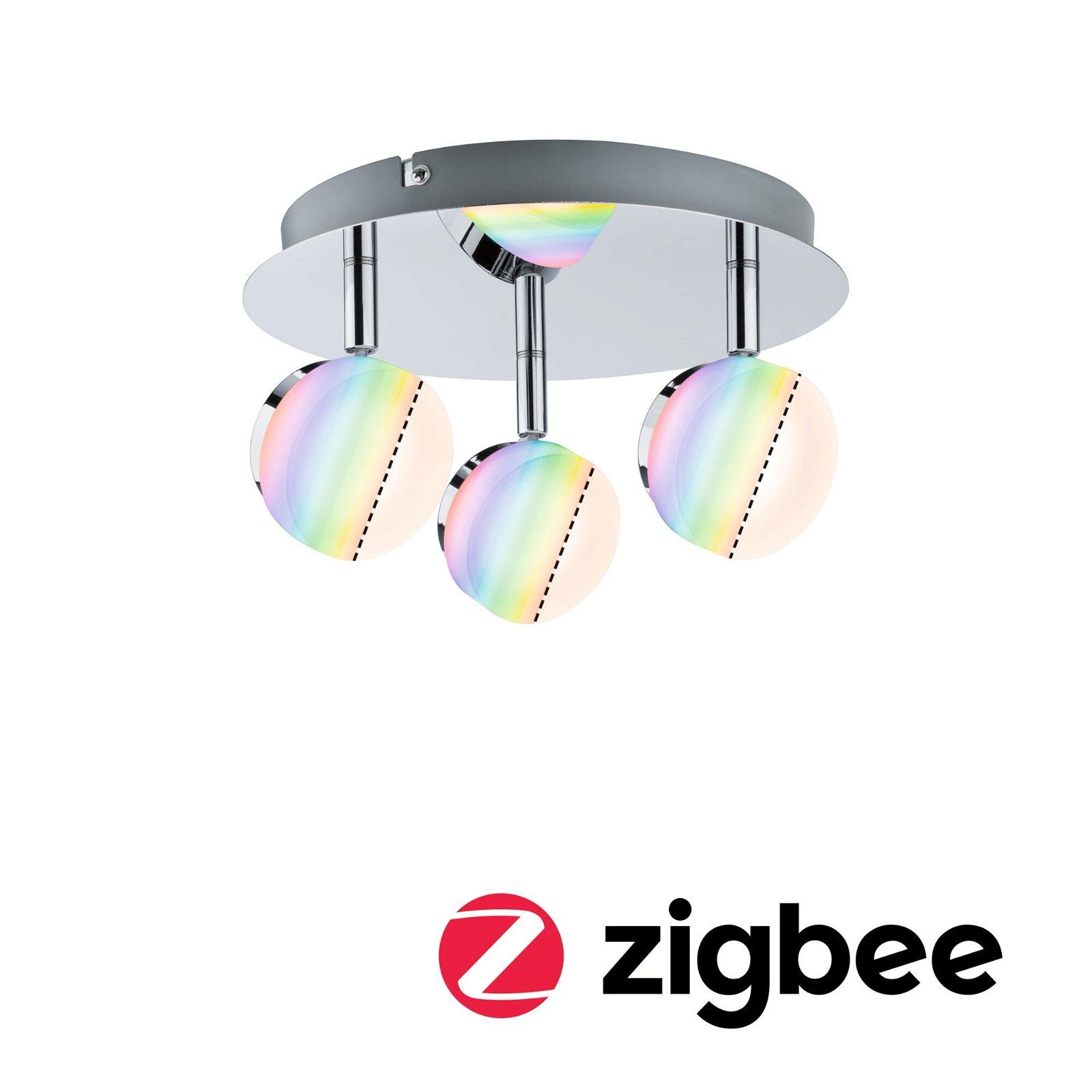 Smart Home Zigbee Spot Iro 3-flammig RGBW Chrom