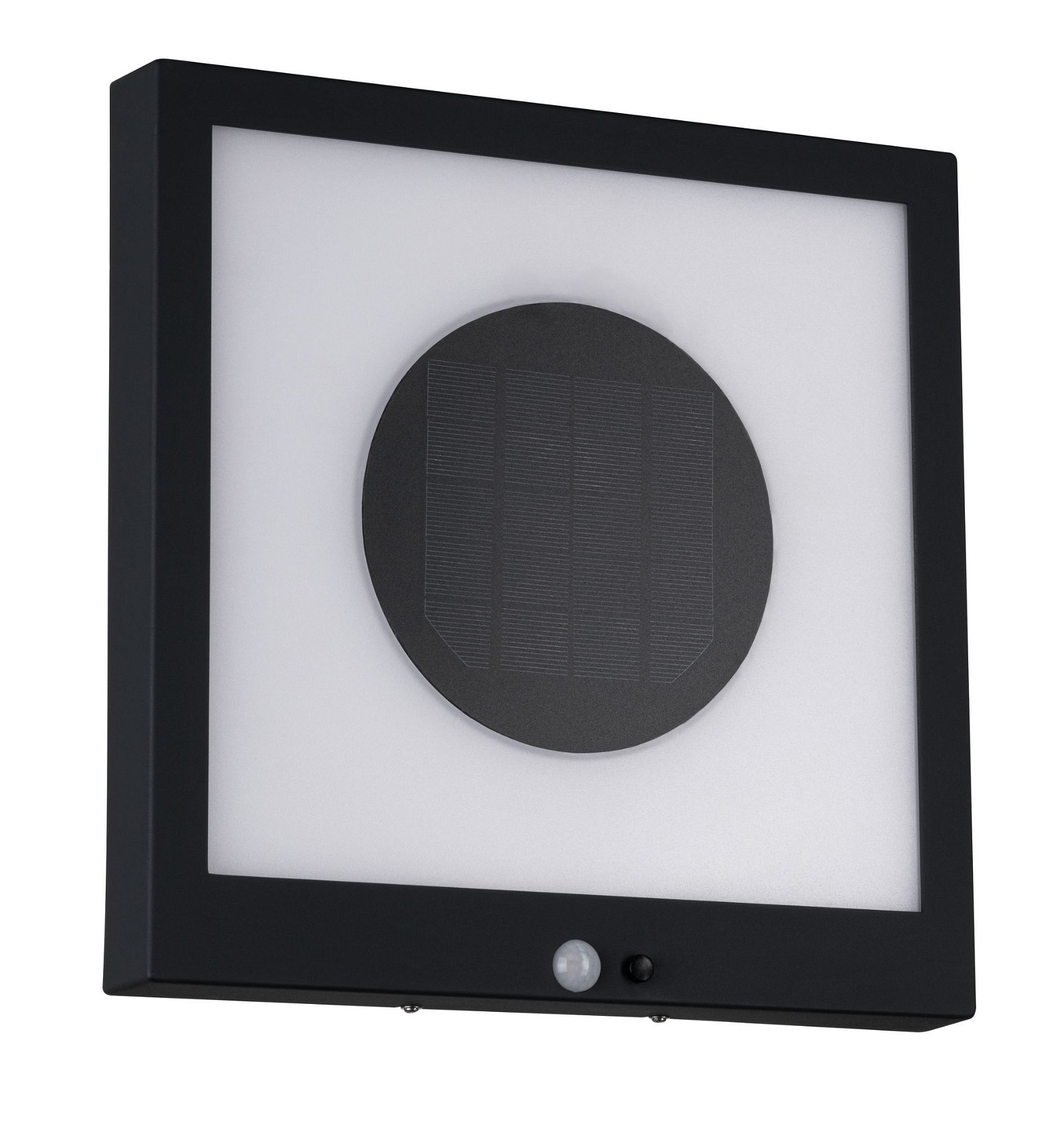 Solar LED Panel Taija Bewegungsmelder IP44 3000K 120lm Anthrazit