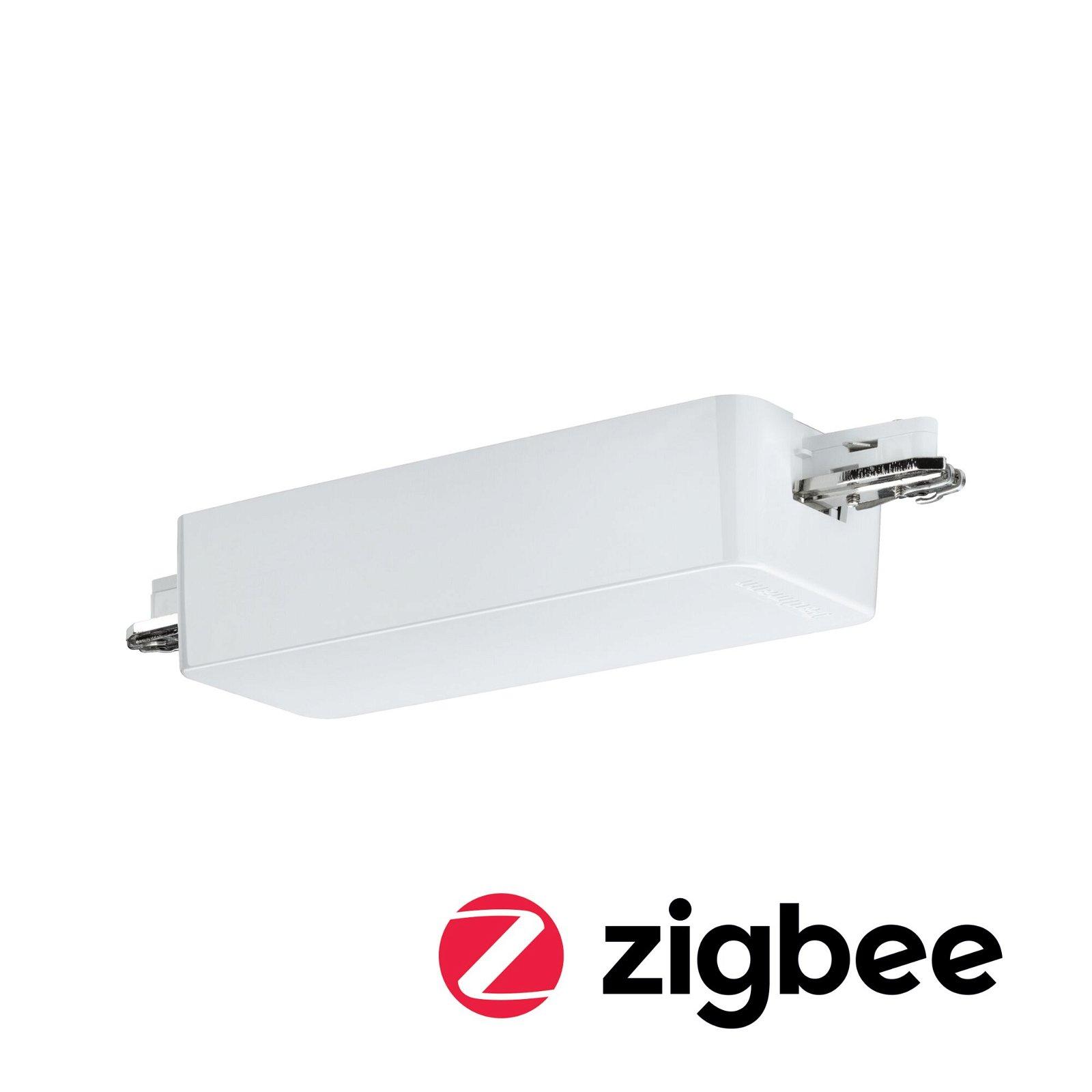 URail Schienenadapter Smart Home Zigbee Dimm/Switch 155x56mm Weiß