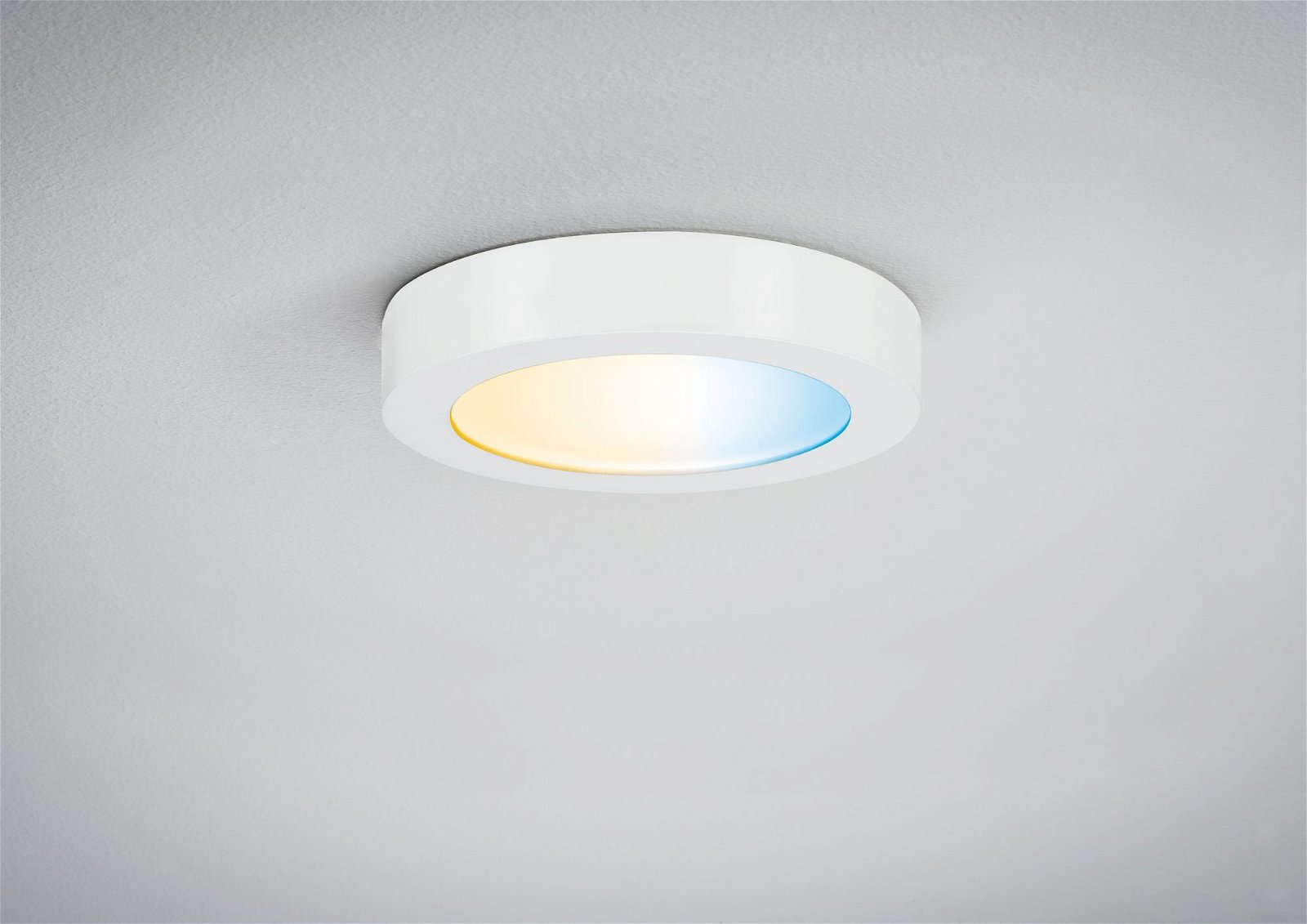 Panneau LED Smart Home Zigbee Cesena rond 170mm 1050lm Tunable White Blanc dépoli