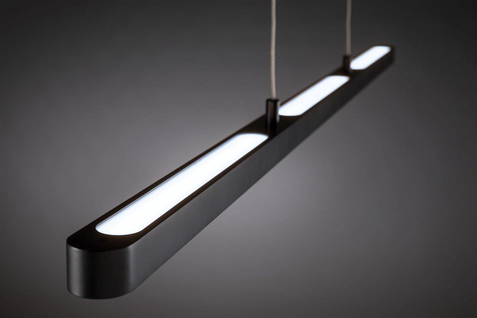 LED Pendelleuchte Lento Tunable White 3570lm 43W Schwarz
