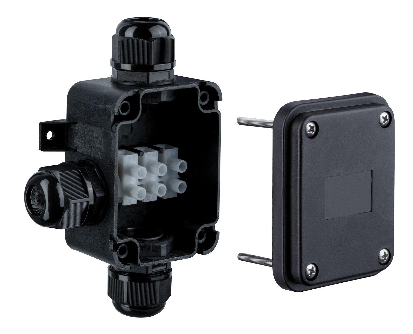 Special Line Boîtier de connexion Diamètre de câble jusqu'à 15mm IP68 Noir