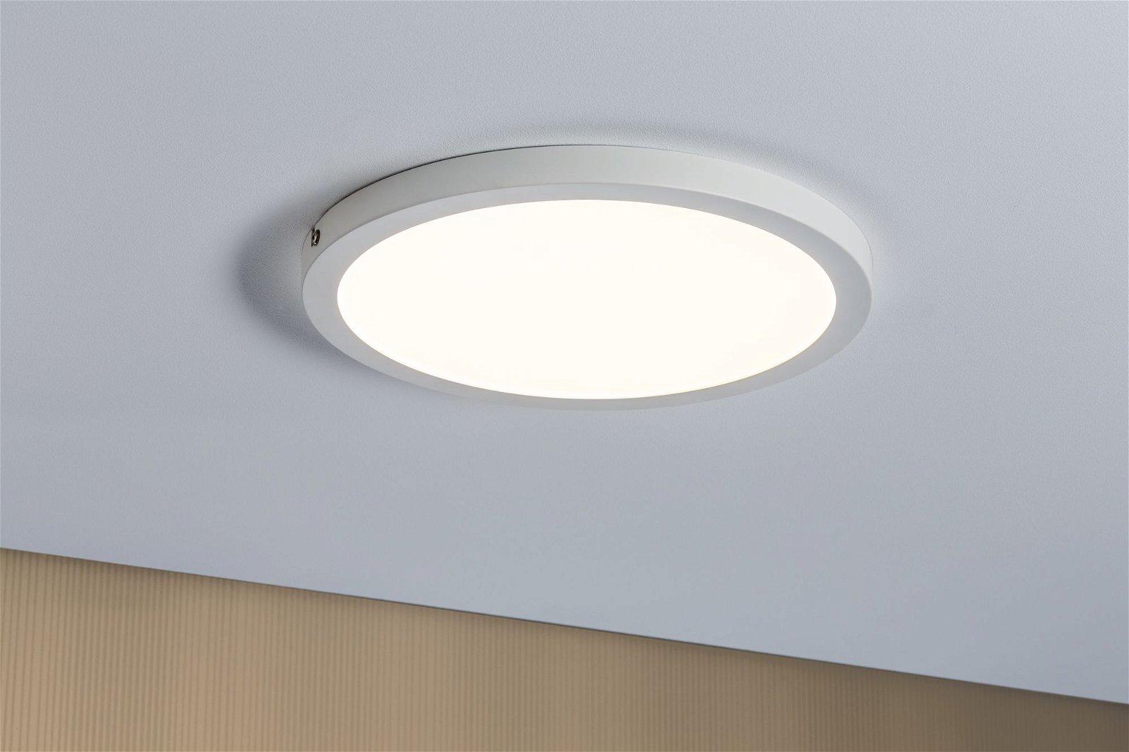 Panneau LED Atria rond 300mm 1800lm 2700K Blanc dépoli