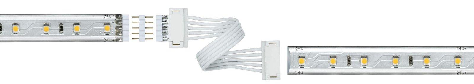 MaxLED Connecteur Universal 100x19mm max. 144W Blanc