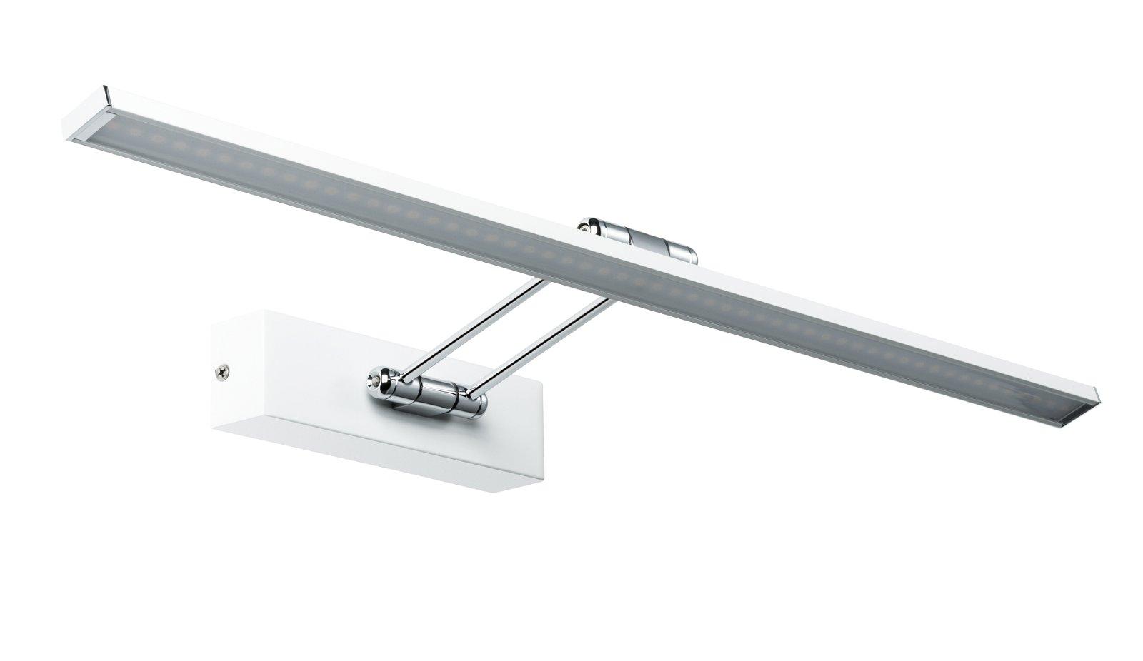 Galeria LED Bilderleuchte Beam 2700K 1250lm 230V 11W Weiß/Chrom