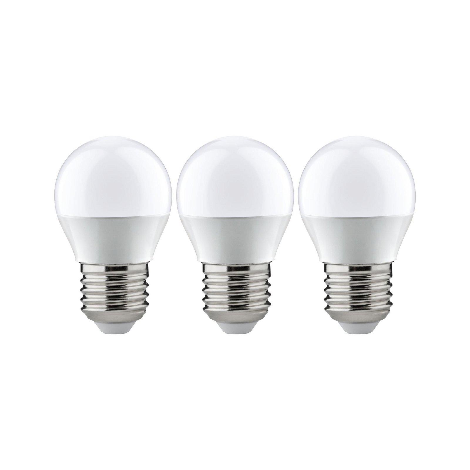 LED Tropfen E27 230V 3x250lm 3x3,5W 2700K Opal