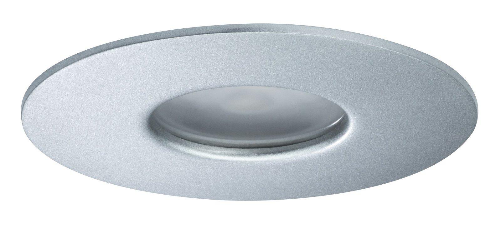 House Einbauleuchte IP44 4000K 34° 5,8W Silber