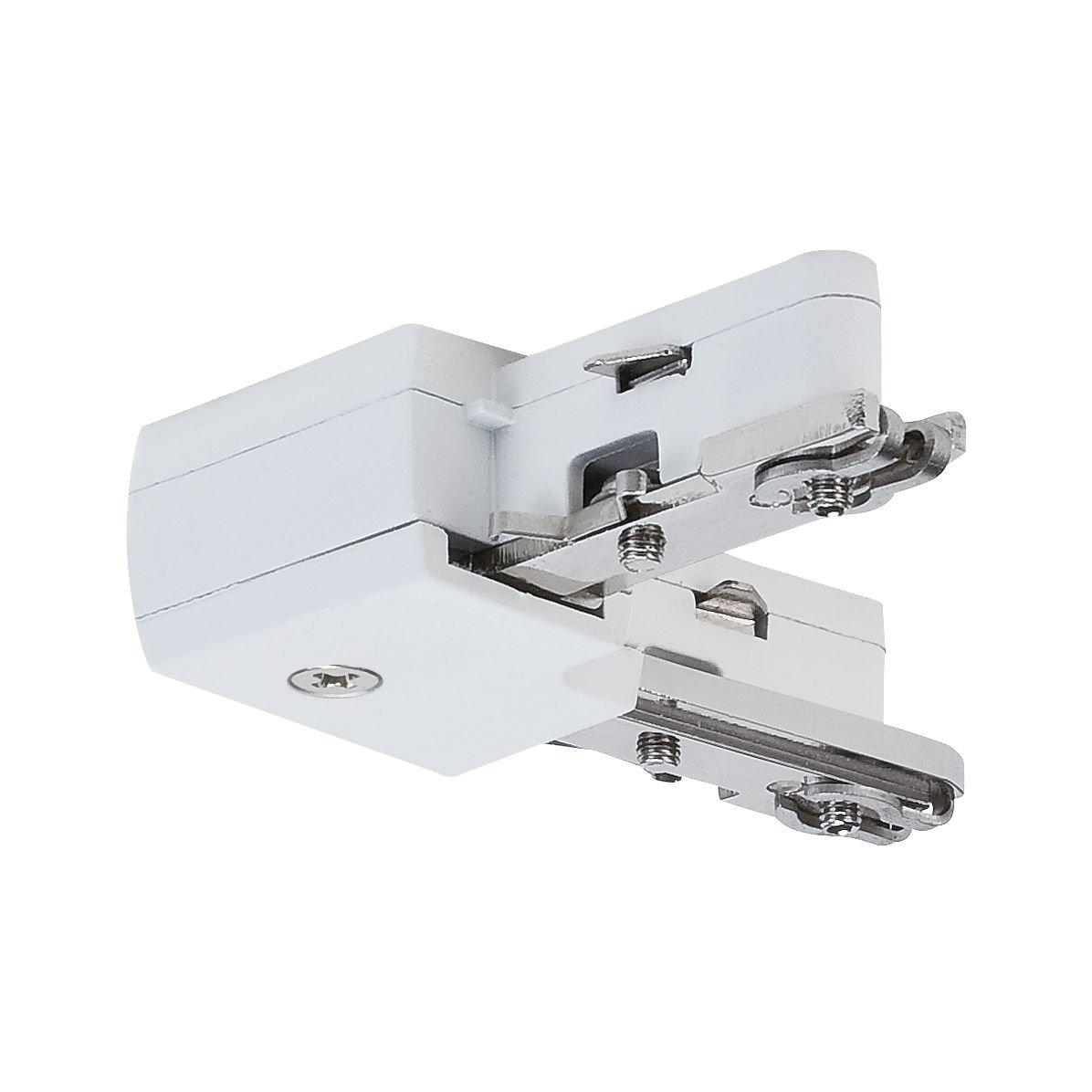 URail Connecteur Pièce en L 62x62mm max. 1.000W Blanc