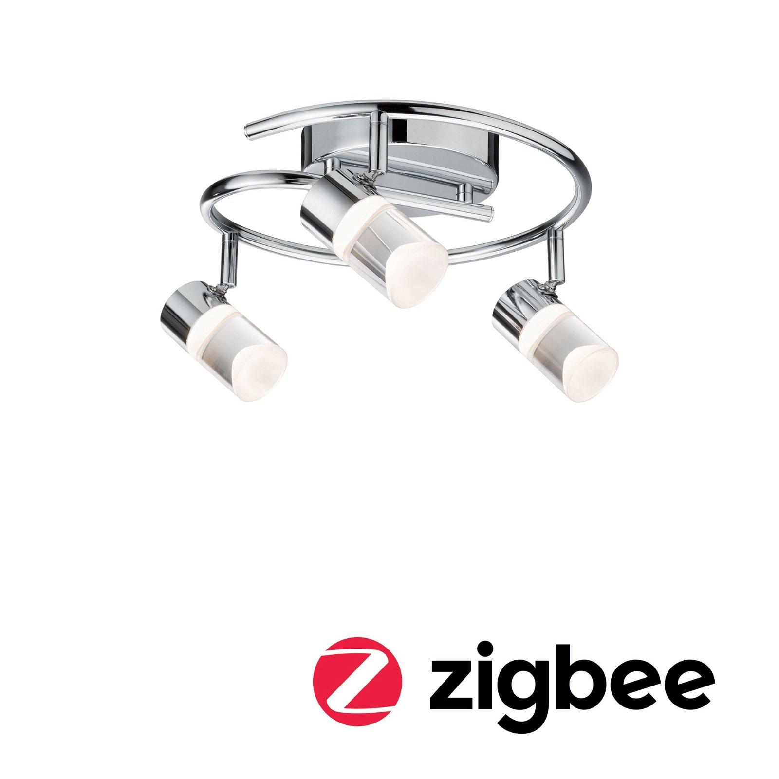 Smart Home Zigbee Spot Zala 3-flammig dimmbar Chrom
