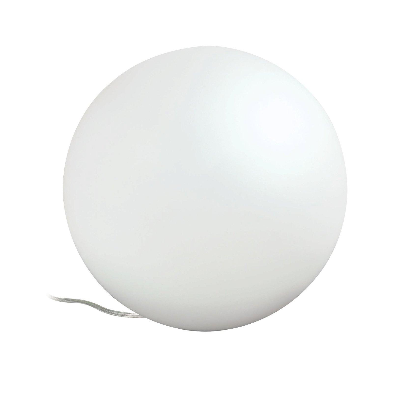 LED-tafellamp Siegen E27 RGBW 7,5W Opaal/Satijn