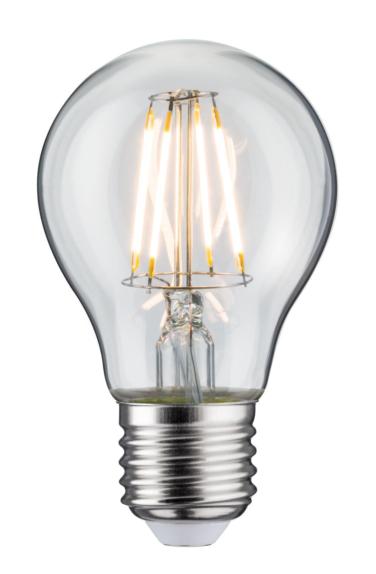 LED Birne Filament E27 230V 470lm 4,3W 2700K Klar