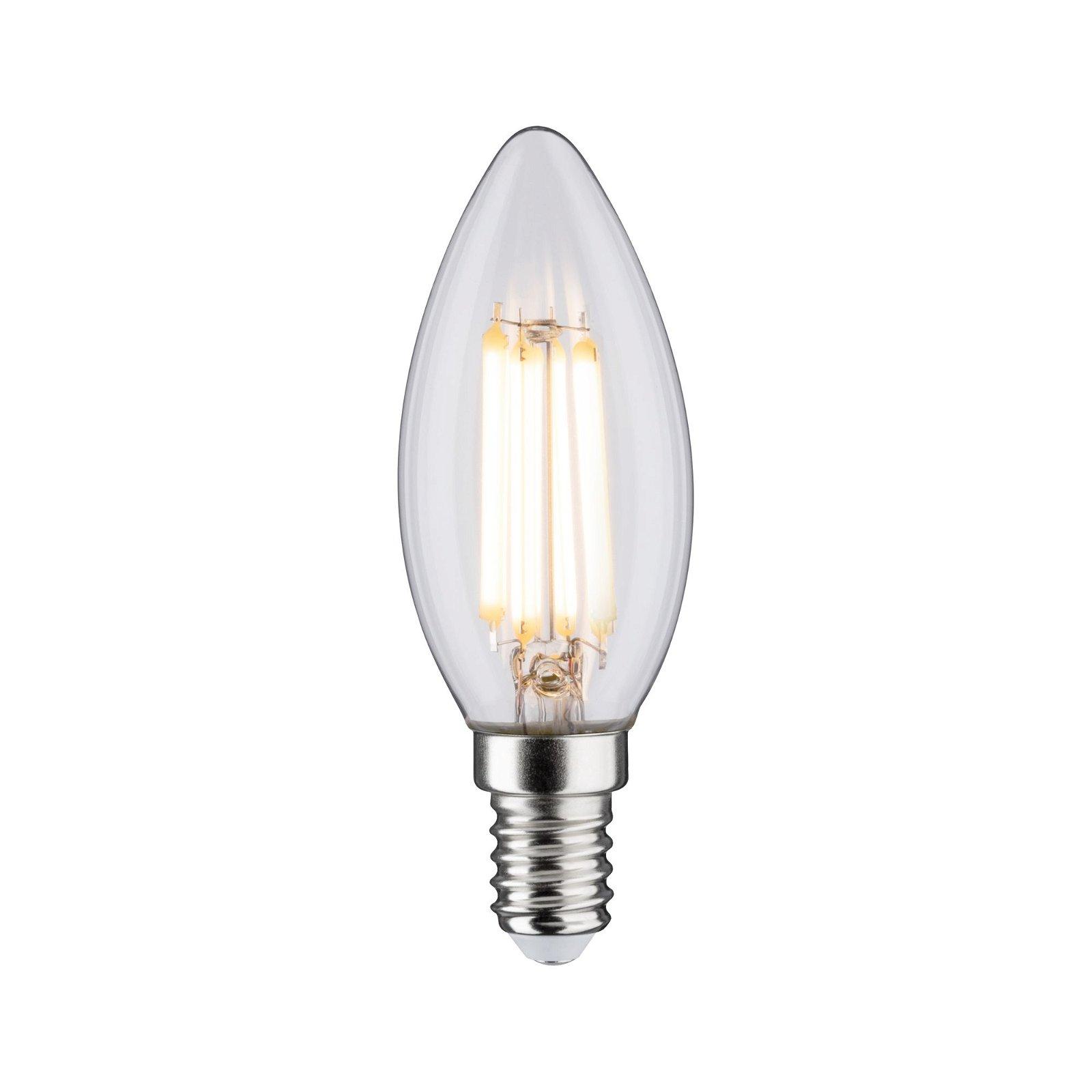 LED kaars Filament E14 230V 806lm 6,5W 2700K Helder