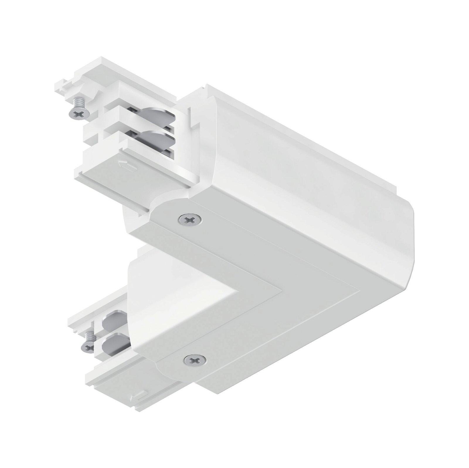 ProRail3 Verbinder L-Stück Innen 101x101mm max. 3.680W Weiß