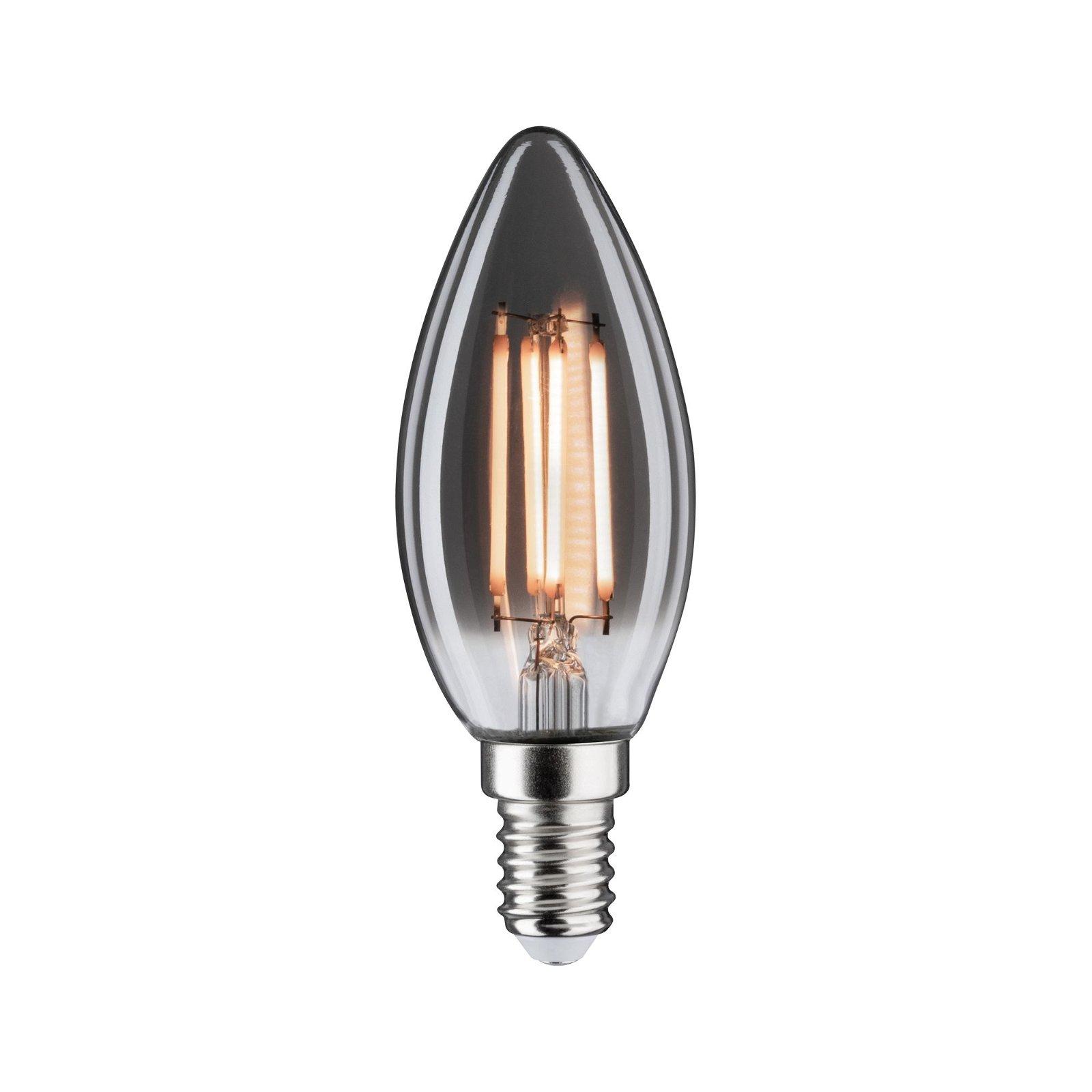 1879 LED Kerze E14 230V 145lm 4W 2200K Rauchglas