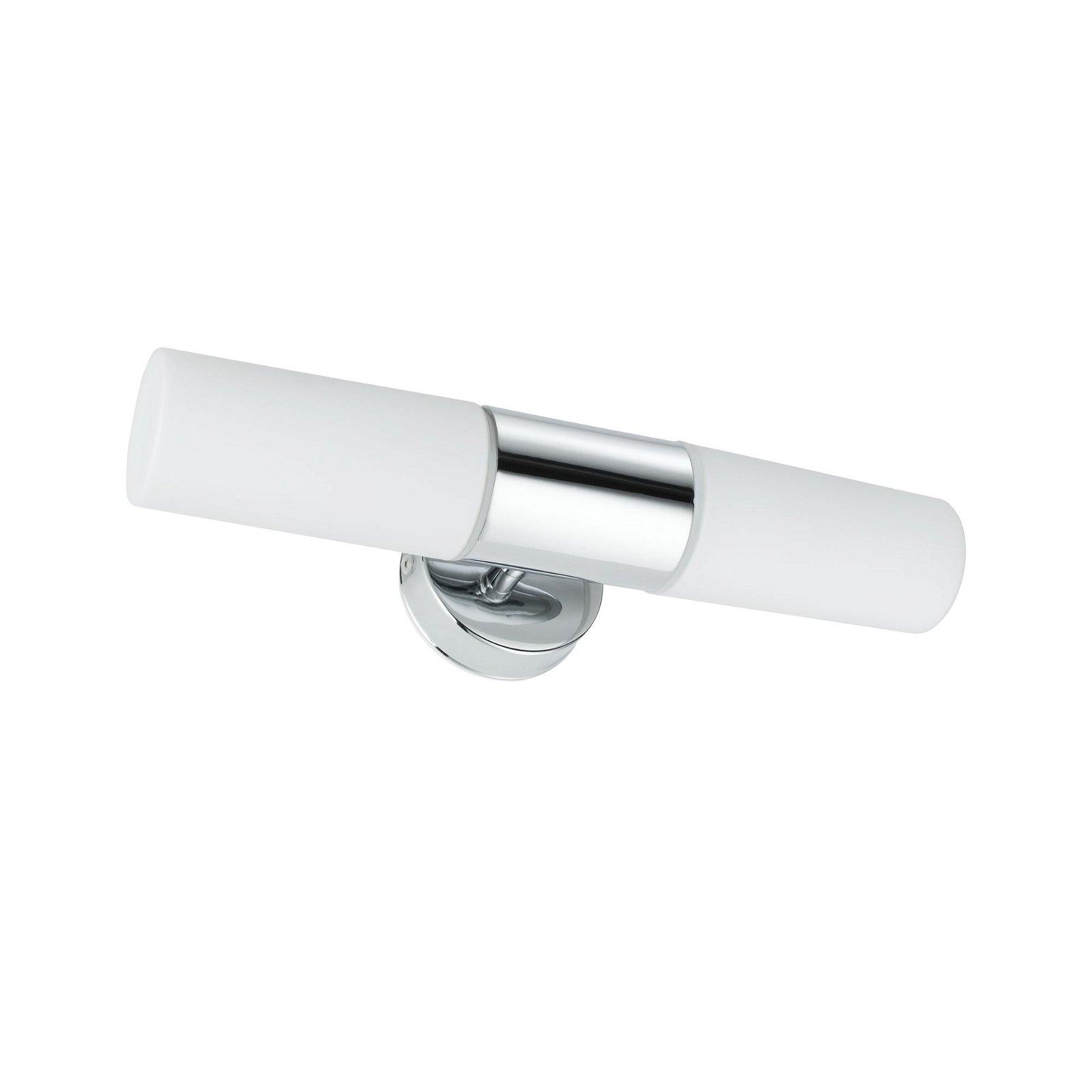 Spiegelleuchte Lenia IP44 E14 230V max. 2x20W Chrom/Opak