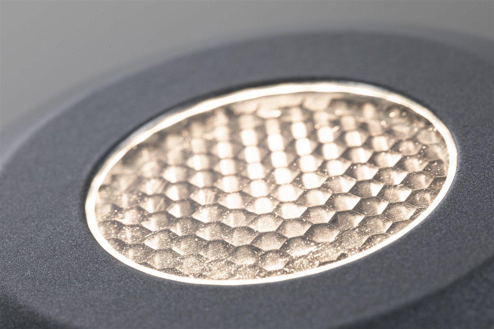 LED Bodeneinbauleuchte Floor IP67 82mm 3000K 11W 1200lm 230V Grau Aluminium