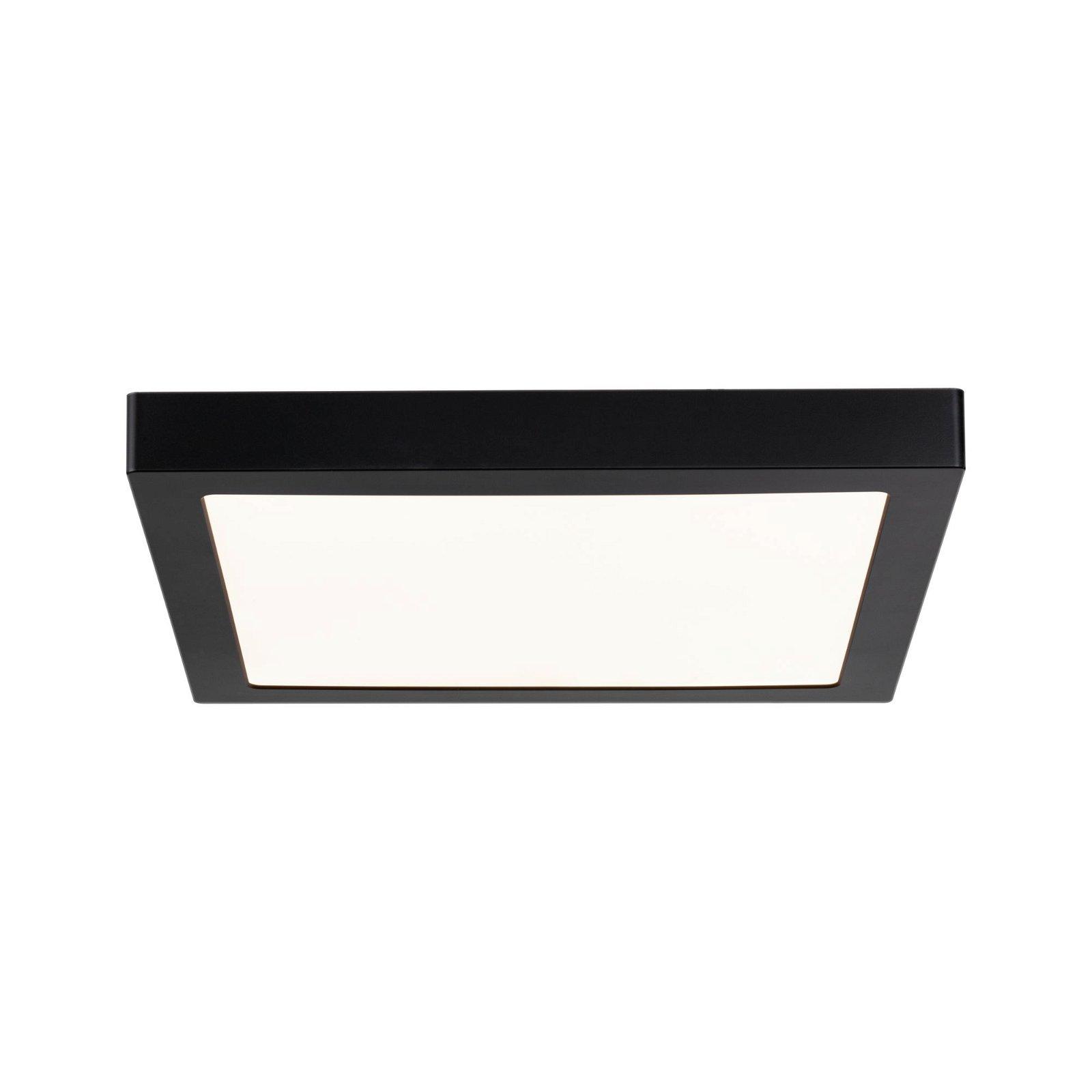 Panneau LED Abia carré 300x300mm 3200lm 2700K Noir mat