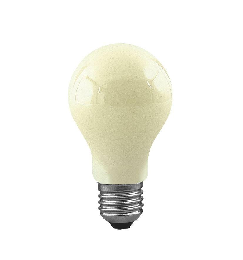 Incandescent lamp Anti Insekta E27 230V 328lm 60W Yellow