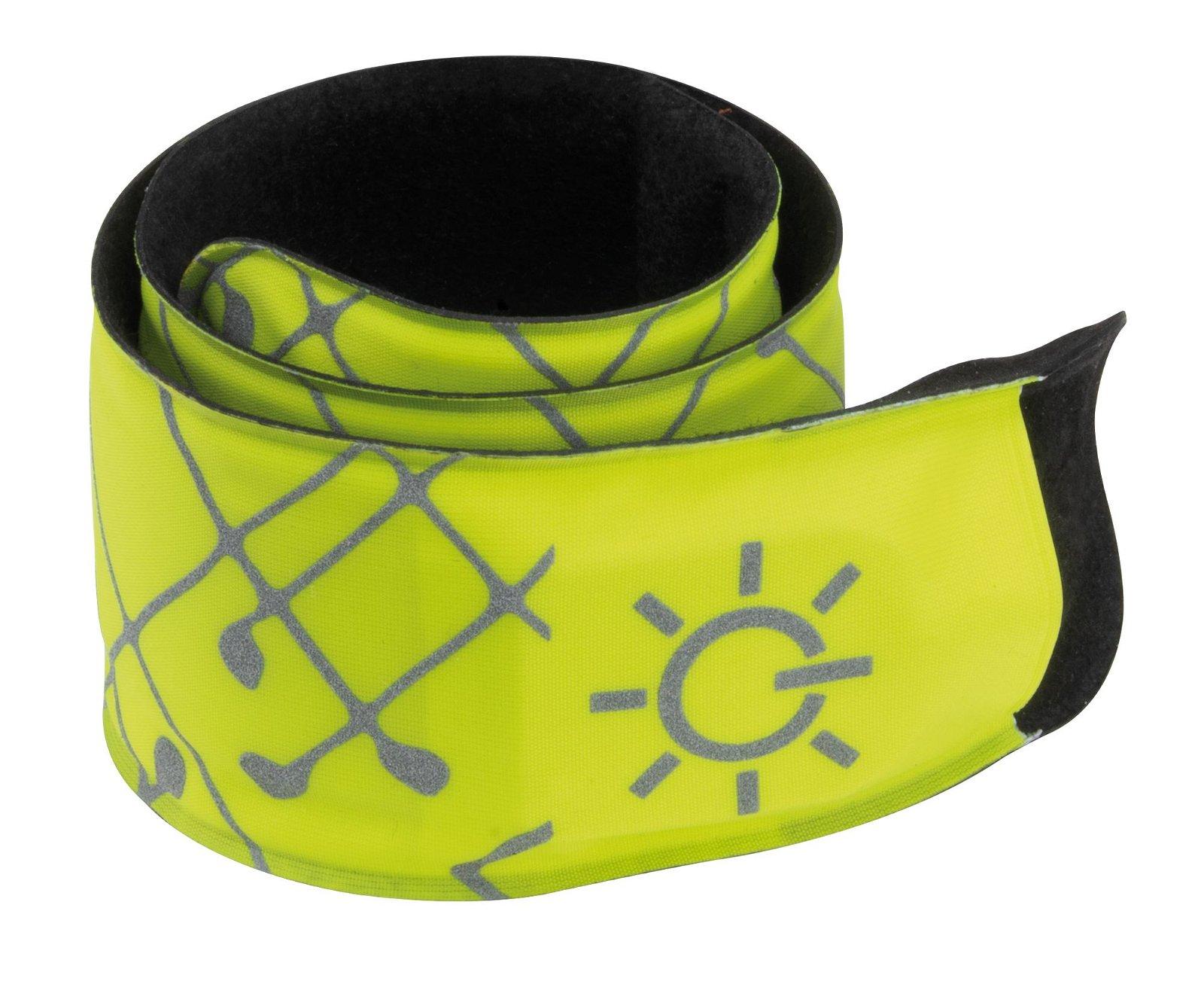 Sportlicht LED Slap Band Gelb