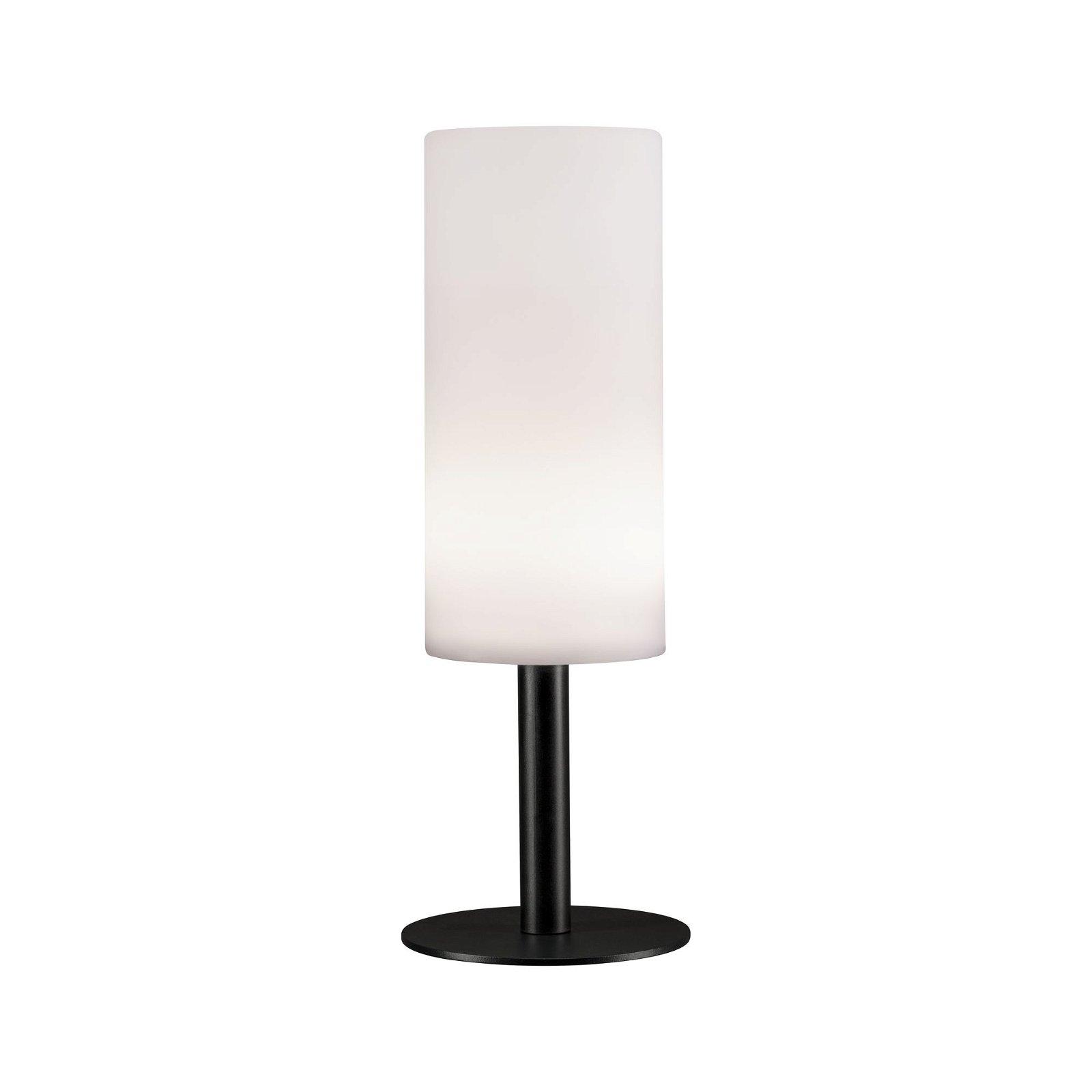 Lampe à poser extérieure Mobile Pipe IP44 gradable, fonction. sur batterie