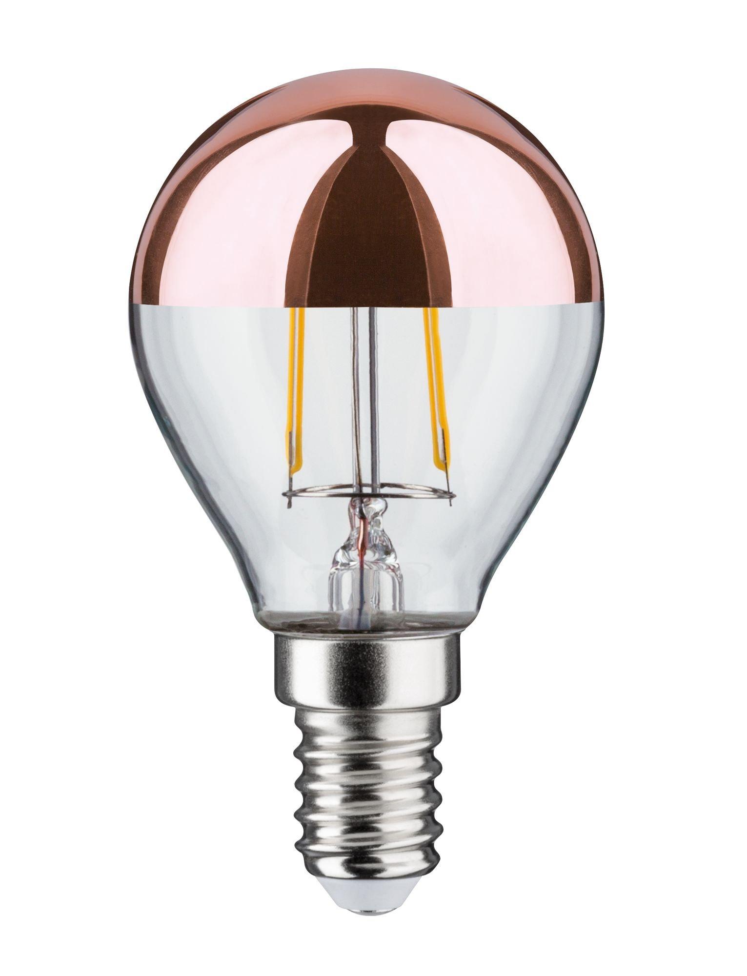 Modern Classic Edition LED-kogellamp Kopspiegel E14 230V 220lm 2,6W 2700K Kopspiegel koper