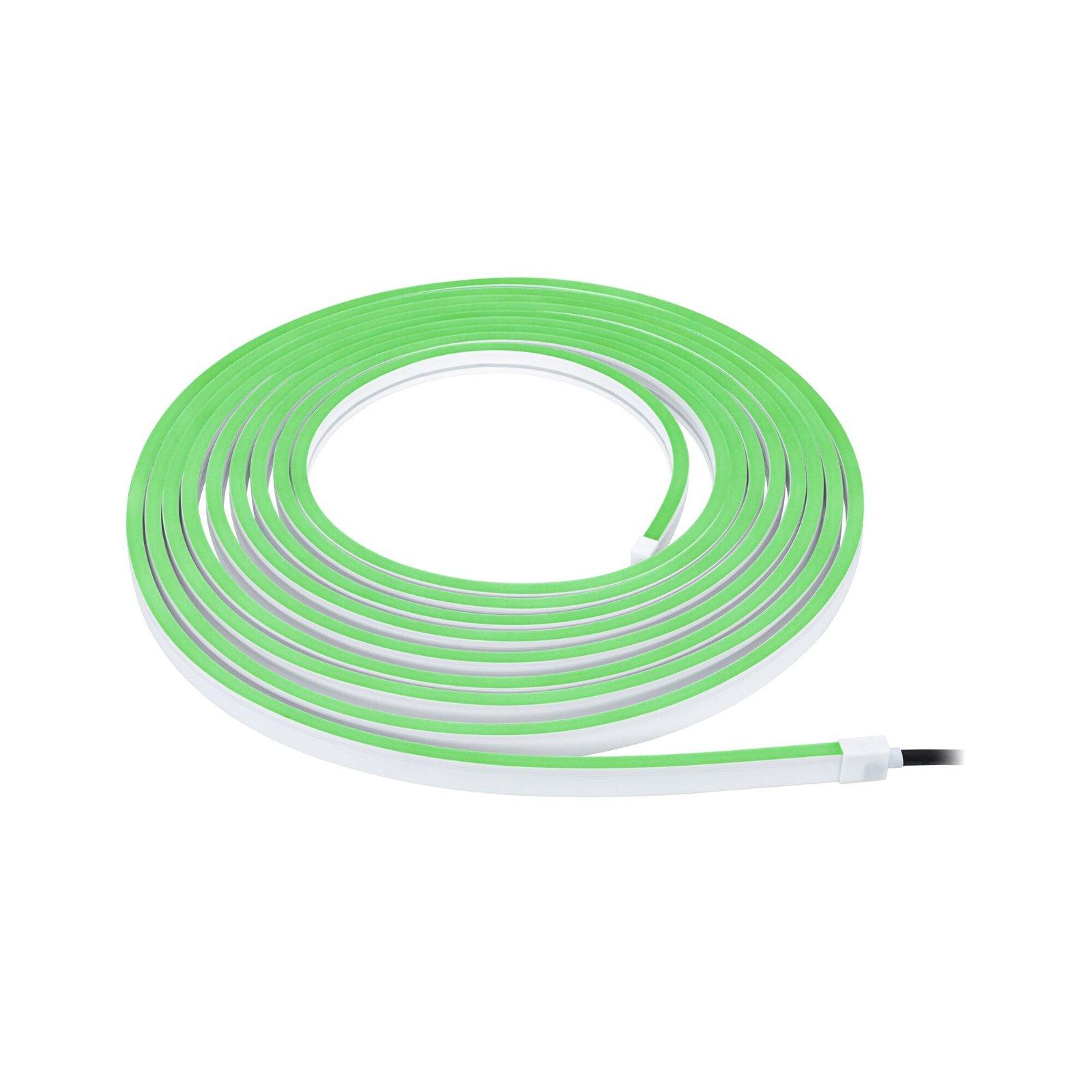 Plug & Shine LED Stripe Smart Home Zigbee Smooth IP67 RGBW 39W Weiß