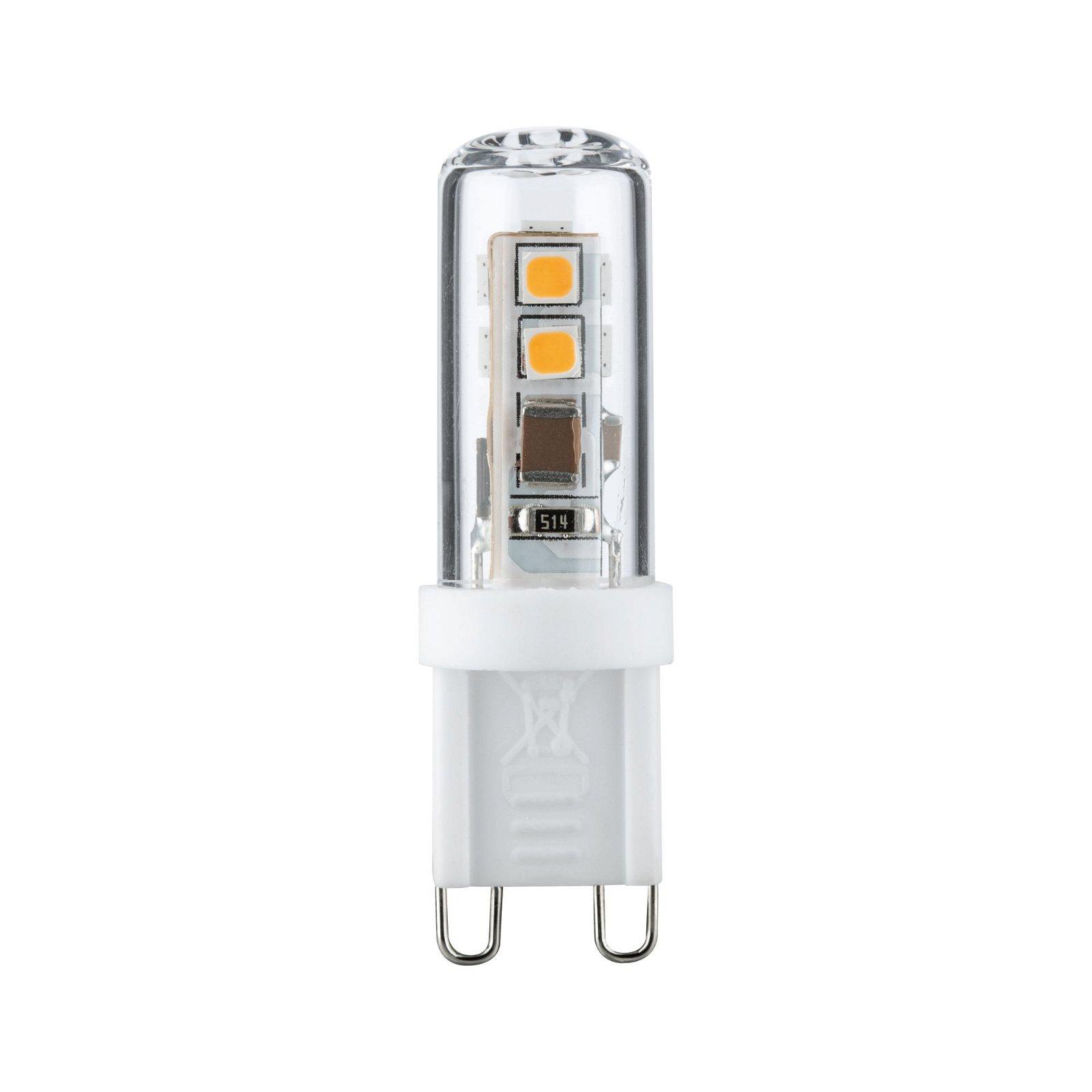 Culot à ergots LED G9 230V 200lm 2,2W 2700K Clair