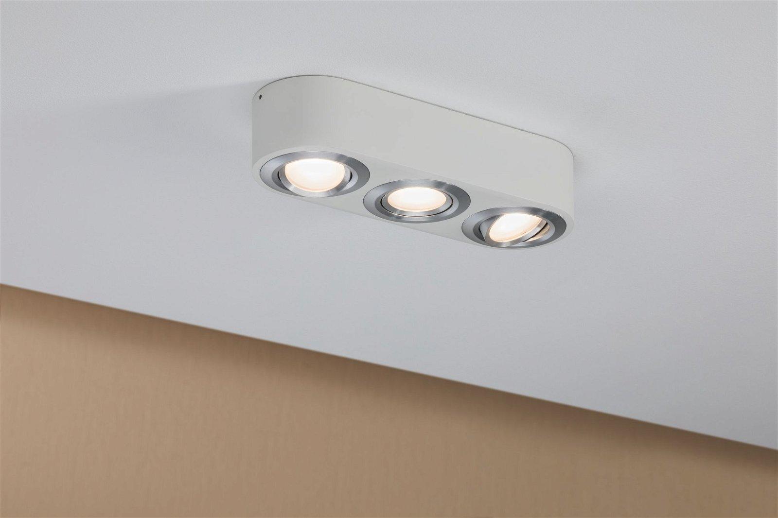 LED Wandleuchte Argun 3000K 3x475lm 230V 3x4,8W Alu gebürstet