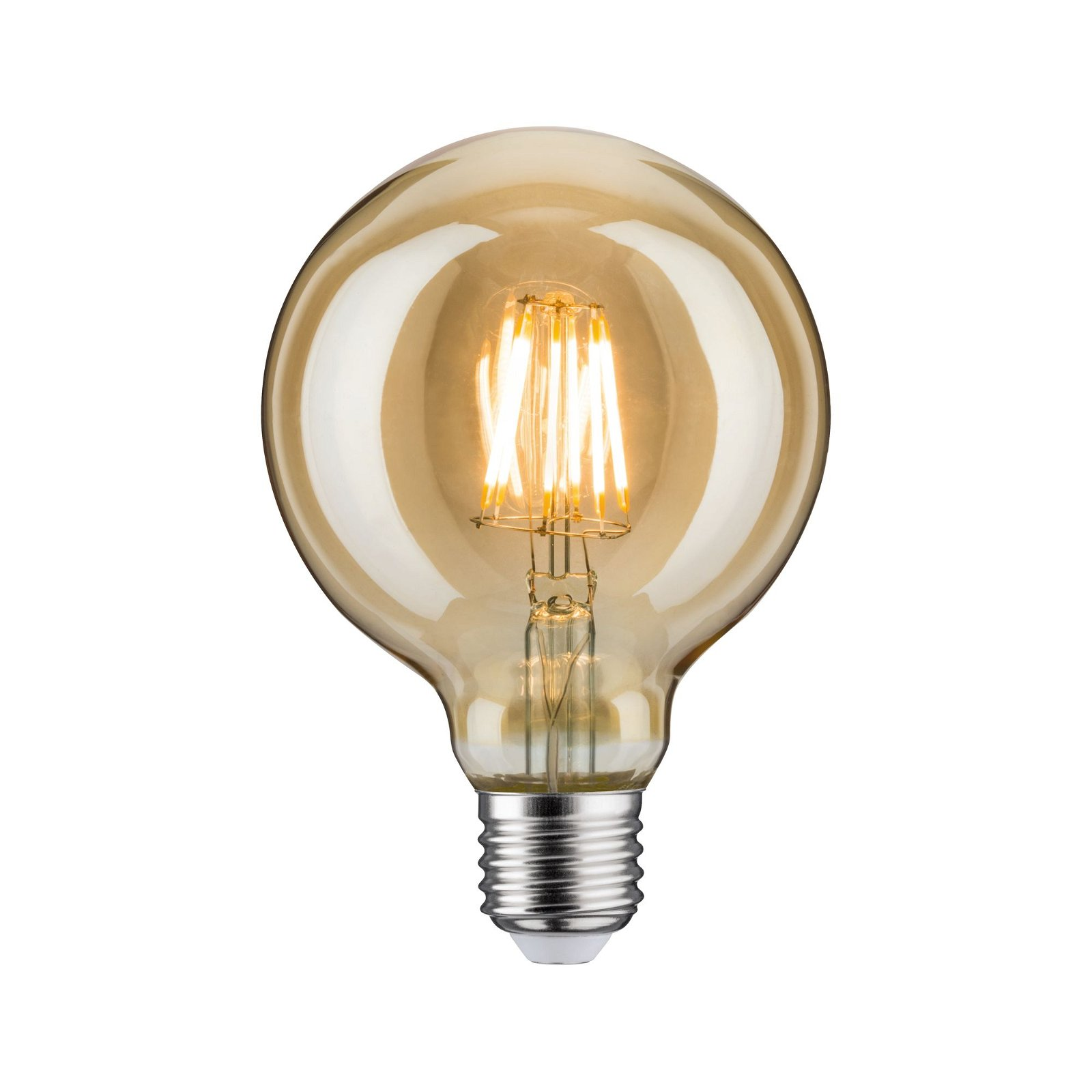 LED Globe E27 230V 680lm 6,5W 2500K Gold