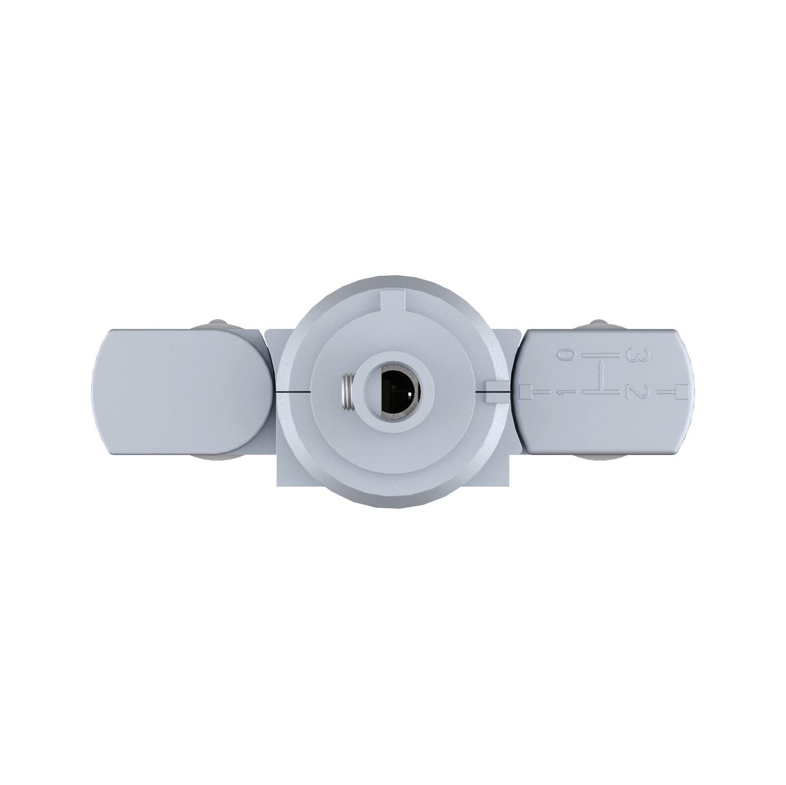 ProRail3 Pendeladapter Universal max. 1.150W 230V Silber