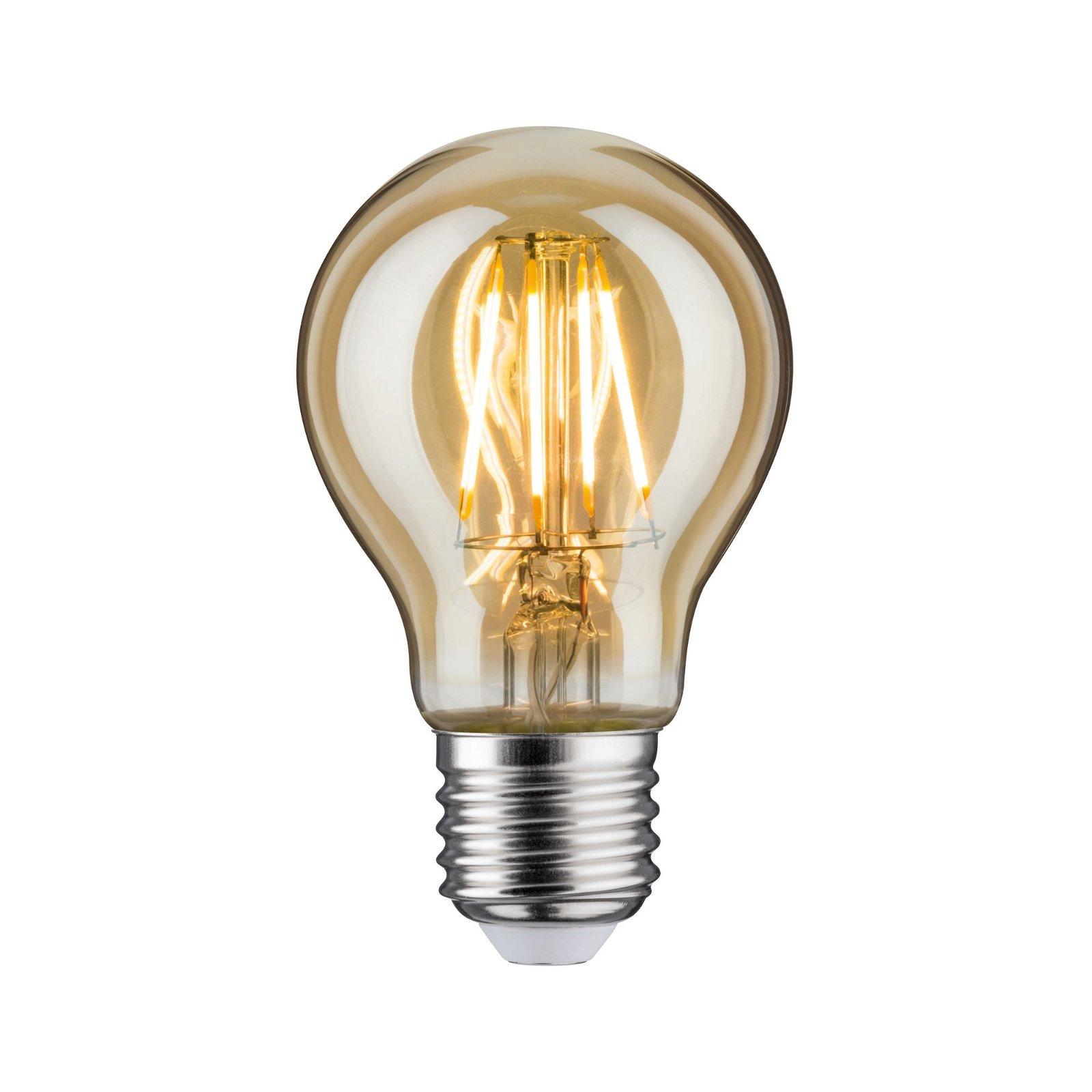 LED Birne E27 230V 500lm 4,7W 2500K Gold