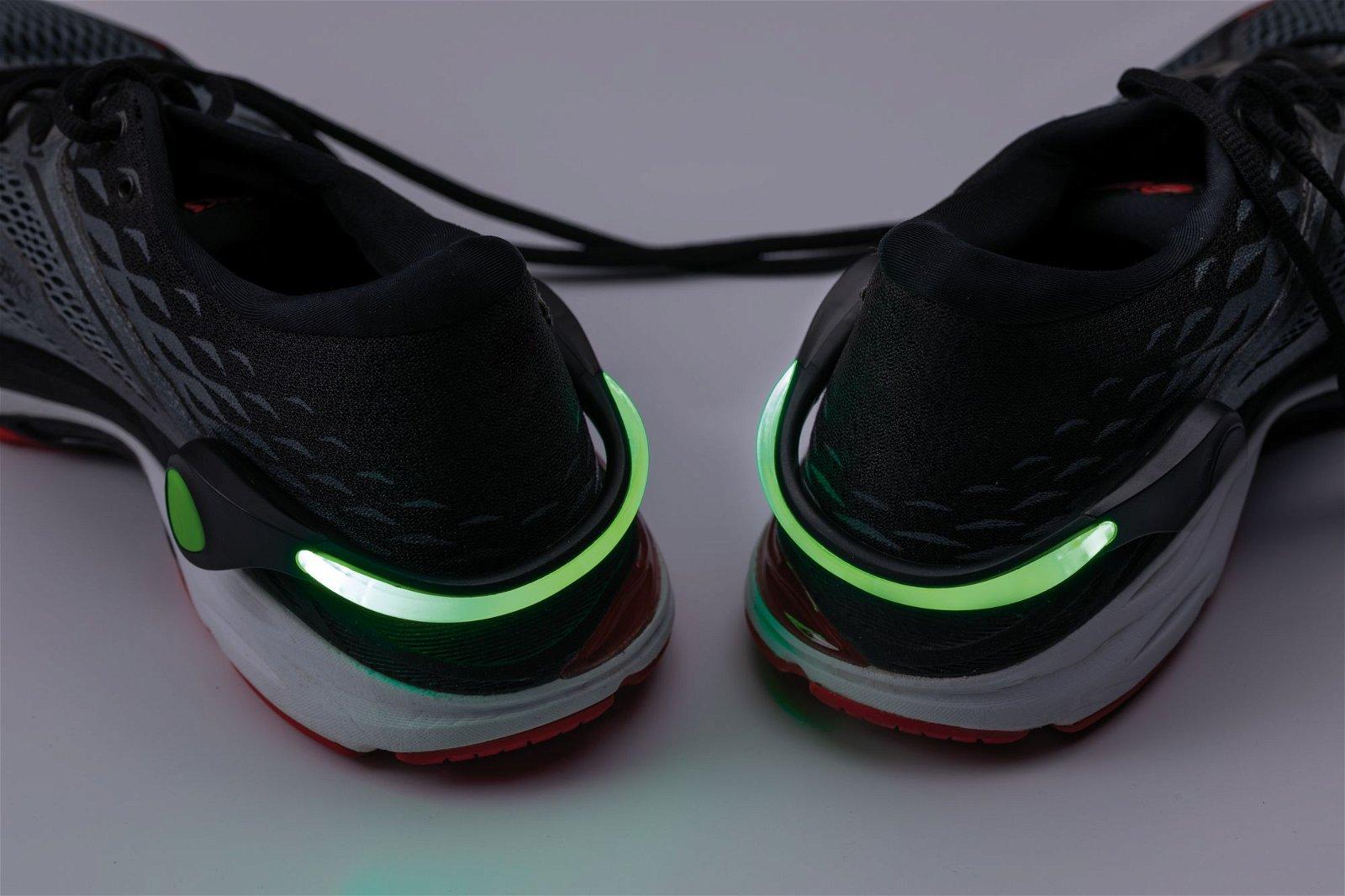 Sportlicht Schuh Clips Schwarz