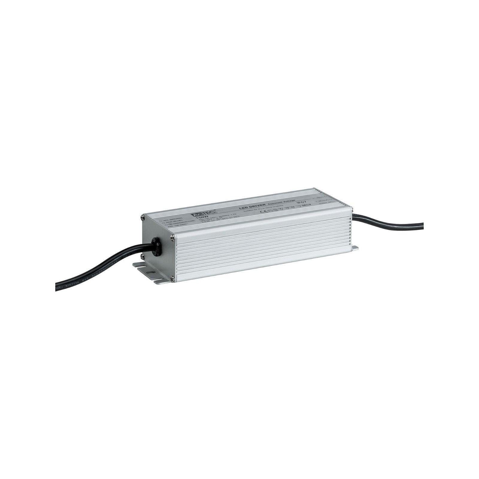 Plug & Shine Einspeisung IP67 230/24V 150VA Silber