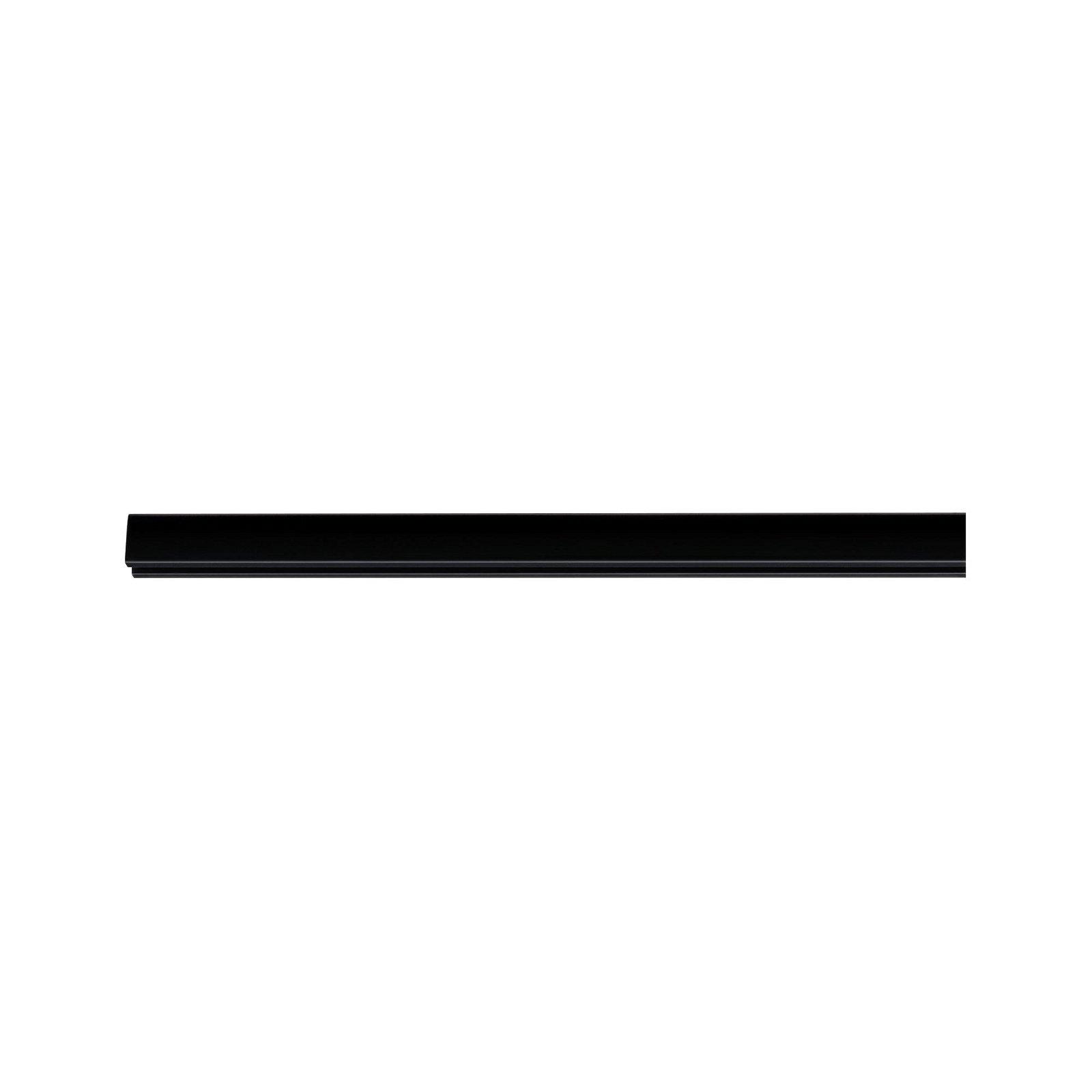 URail Schiene 1m 230V Schwarz matt