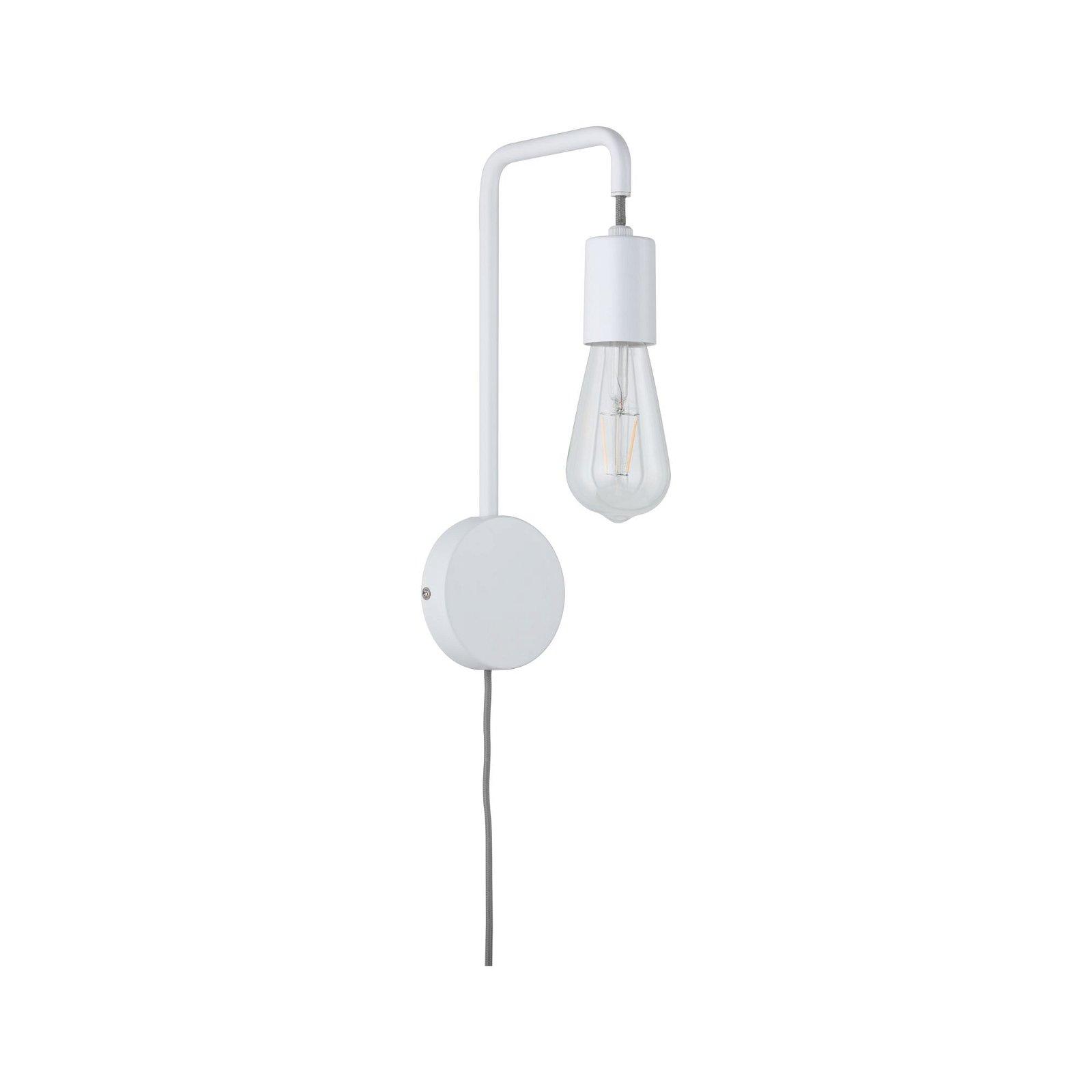Applique Calvani E27 230V max. 40W Blanc