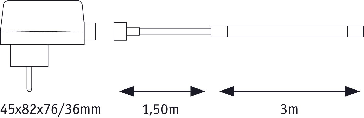 SimpLED LED Strip Outdoor Basisset 3m IP65 12W 1260lm 6500K 18VA