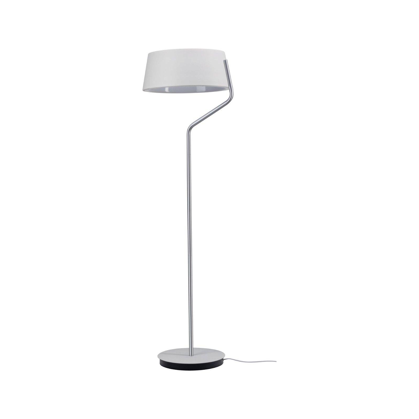 Lampadaire LED Belaja 2700K 2850lm 22W Blanc/Chrome mat