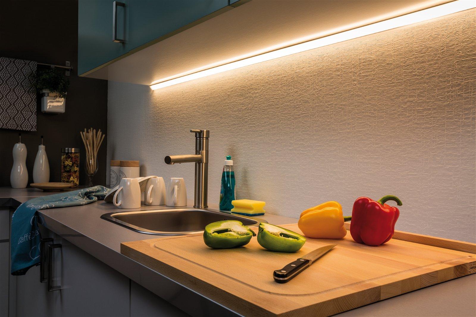 MaxLED 500 LED Strip Warmweiß 3m 20W 550lm/m 2700K 36VA