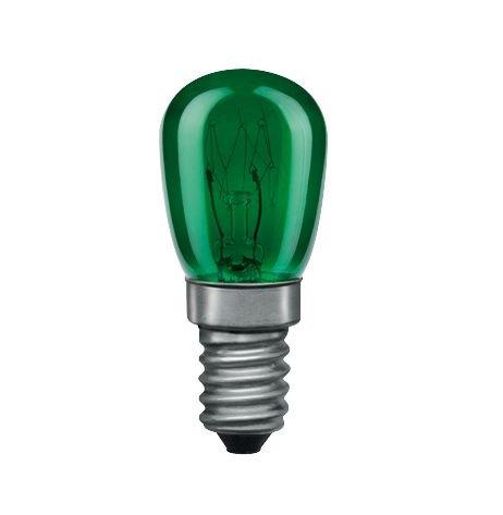 Glühbirne E14 230V 29lm 15W Grün