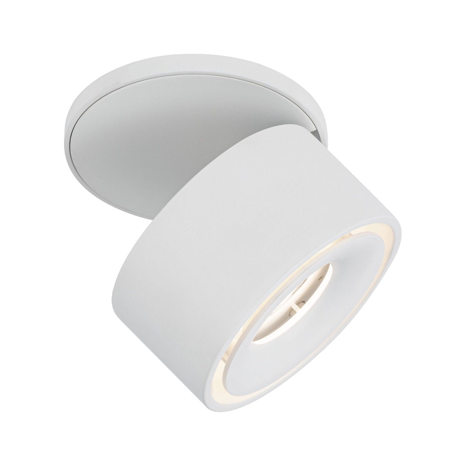 LED Einbauleuchte Spircle 78mm 8,0W 780lm 230V 3000K Weiß matt