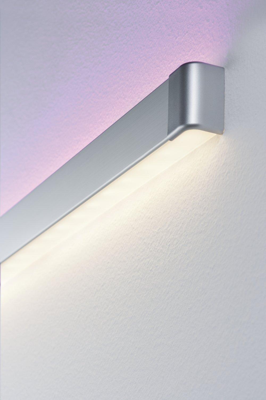 LED Strip profiel Duo End Cap pak van 2 Alu mat