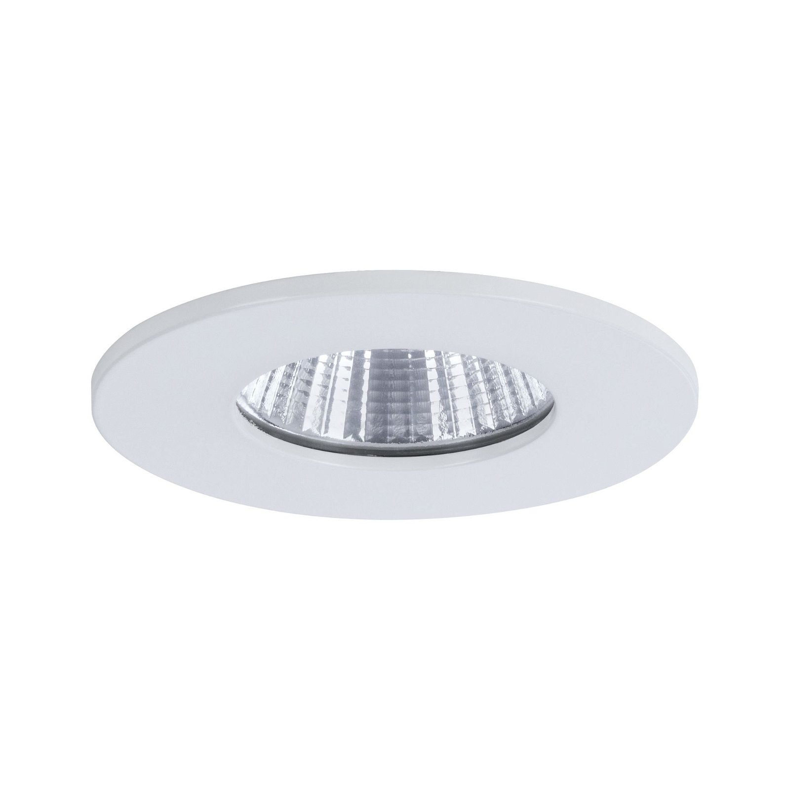 HomeSpa LED Einbauleuchte Calla starr IP65 rund 80mm 7W 770lm 230V 4000K Weiß matt