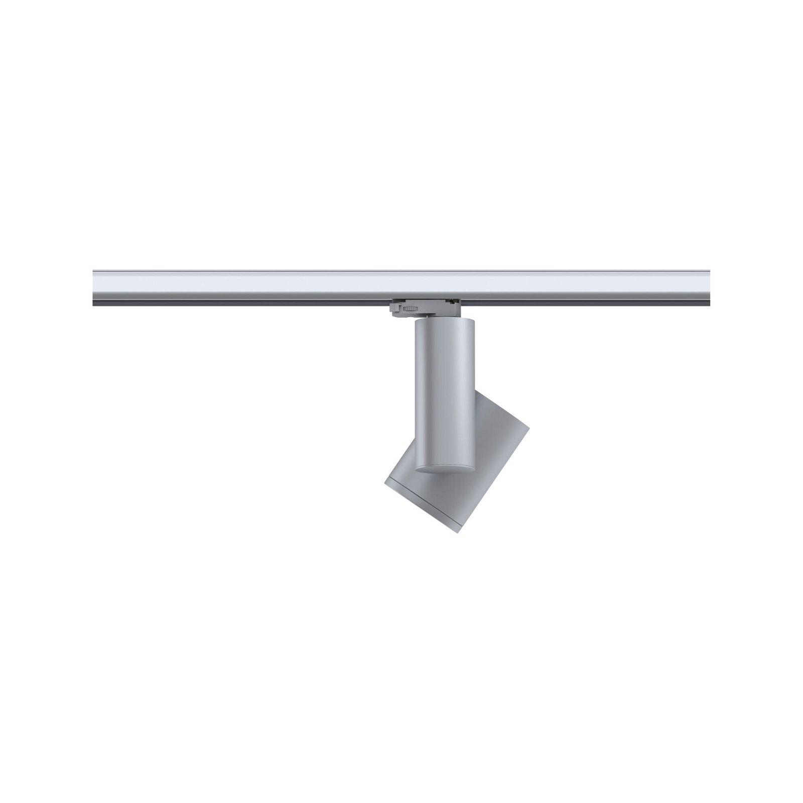 ProRail3 LED Schienenspot Zeuz 39° 3680lm 33W 3000K 230V Silber