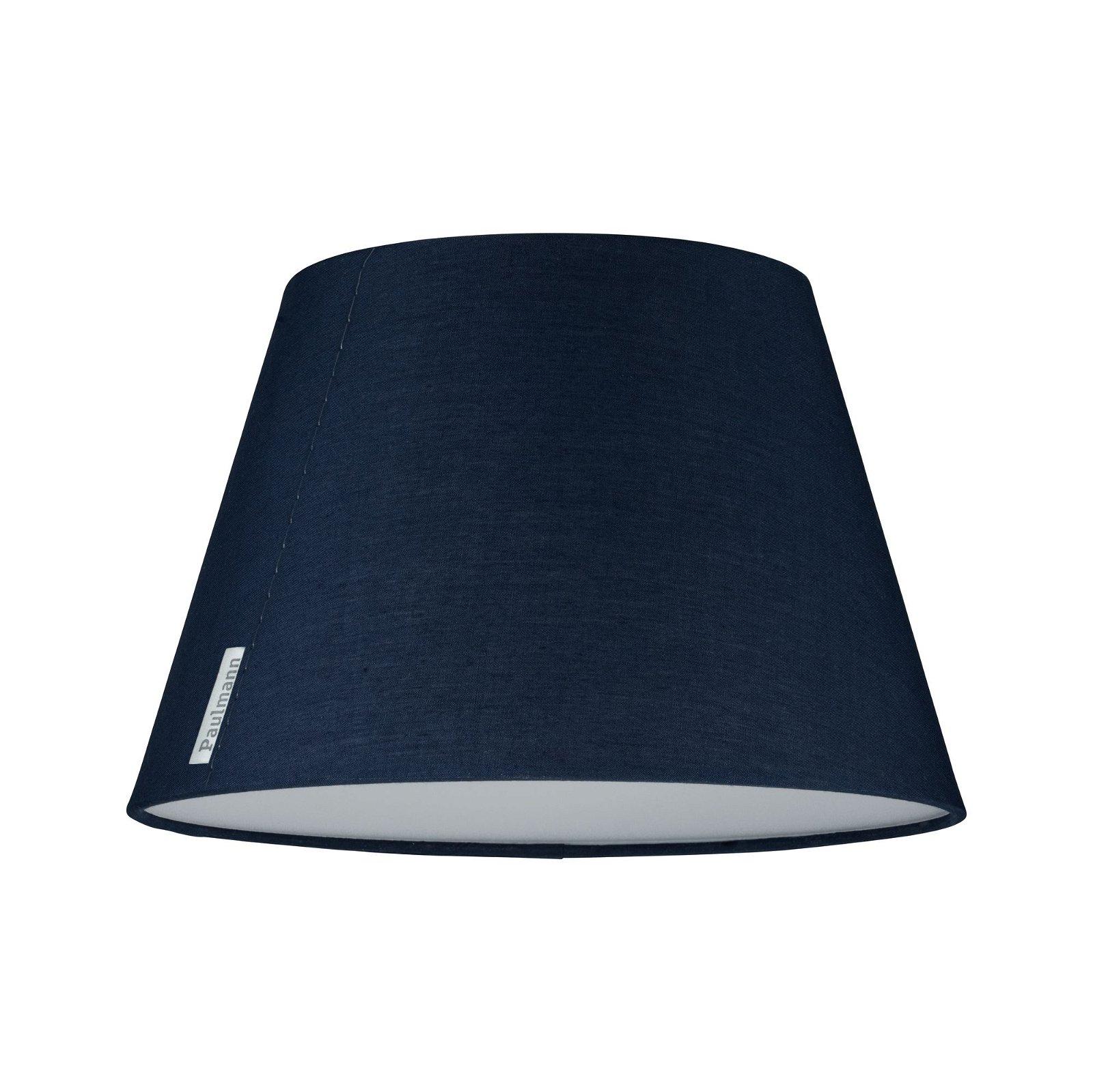 Deckenleuchte Mea 1-flammig Blau mit Stoffschirm, Durchmesser 25cm