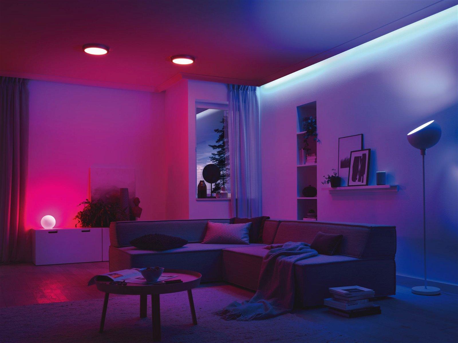Smart Home Zigbee LED Reflektor 3,5W GU10 RGBW dimmbar