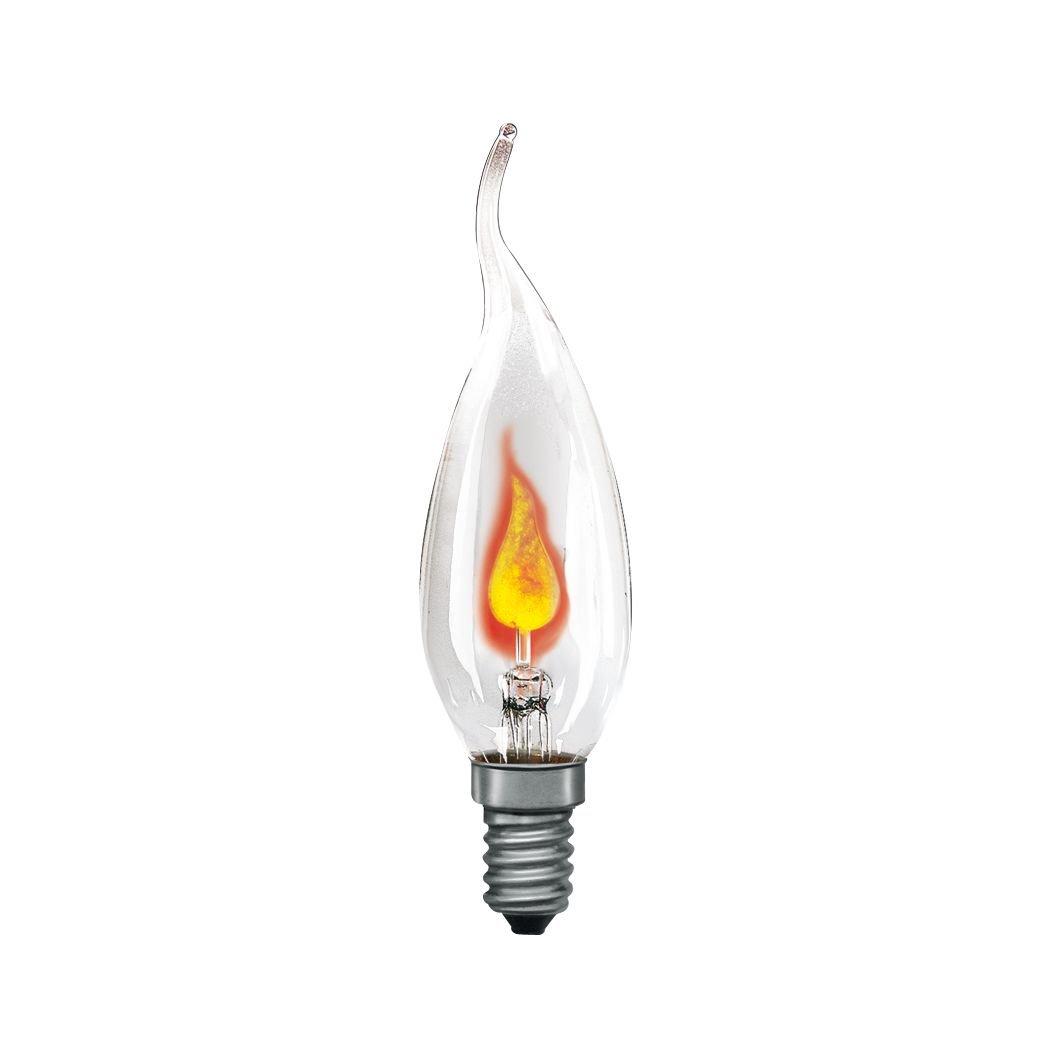 Glühbirne E14 230V 1lm 3W Klar