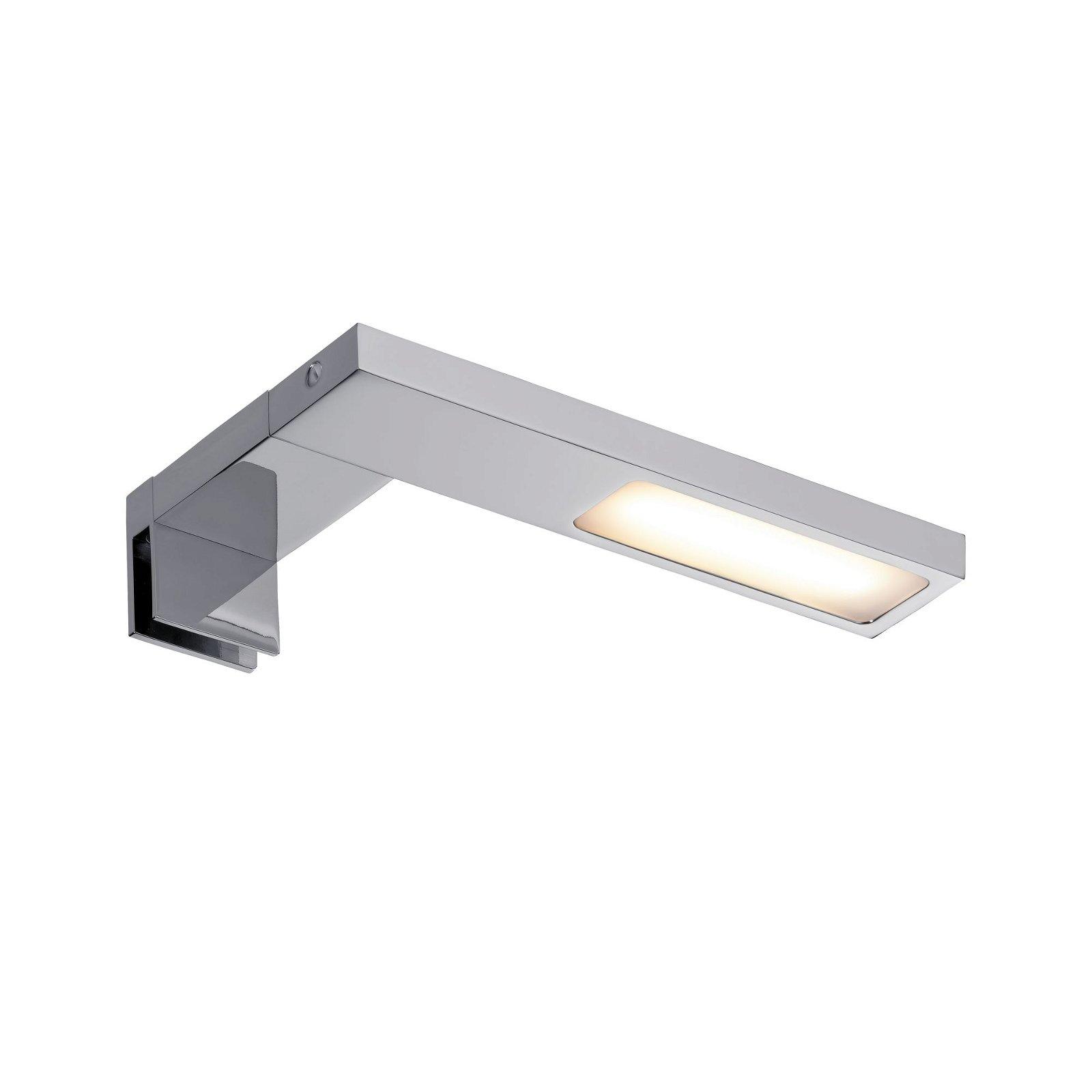 Galeria LED Spiegelleuchte Hook IP44 2700K 378lm 230V 3,2W Chrom