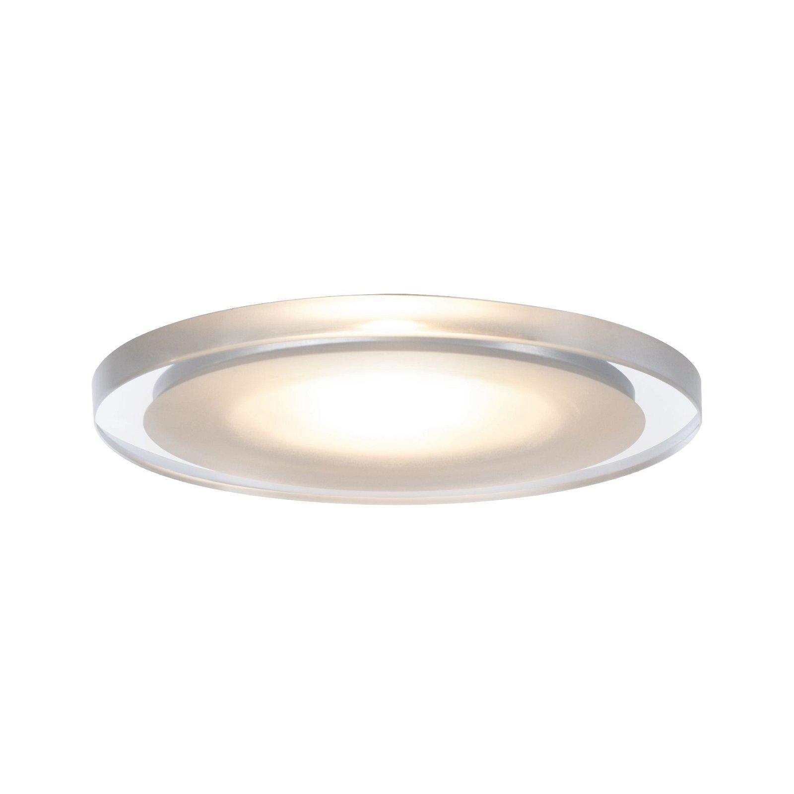 LED-meubelinbouwlampen Whirl rond 65mm 3x2,4W 3x115lm 230V 2700K Satijn