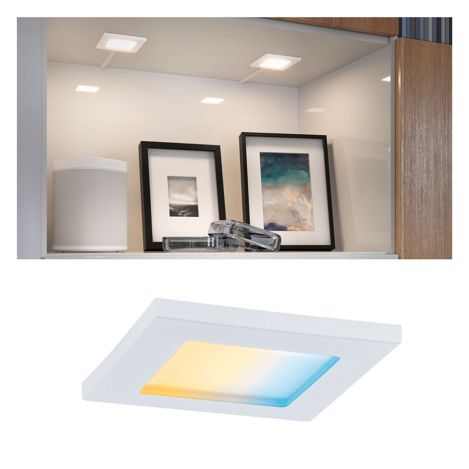 Clever Connect LED Spot Pola Tunable White 2,5W Weiß matt